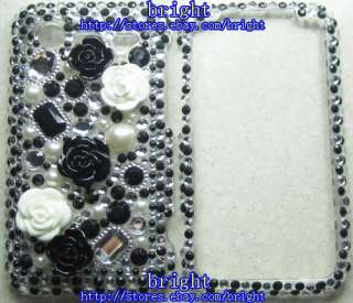 Rhinestone BLing Case Cover For HTC Droid Incredible 2 6350 / S S710e