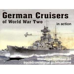 German Cruisers WWII in Acion book Squadron Publicaions