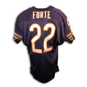 Matt Forte Signed Jersey   Throwback   Autographed NFL