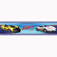 Speed Racer Peel & Stick Border   York Wall Coverings   BabiesRUs