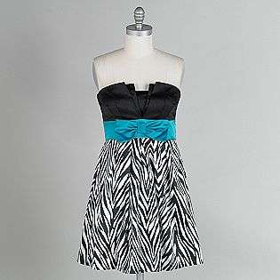 Zebra Print Party Dresses For Juniors 95
