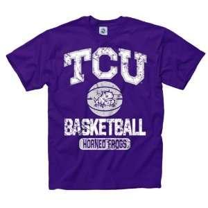 TCU Horned Frogs Purple Youth Ballin T Shirt