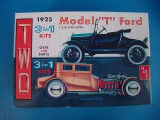 Lindberg Testors AMT Model Car Truck Plastic Kit Bel Air T Chevy