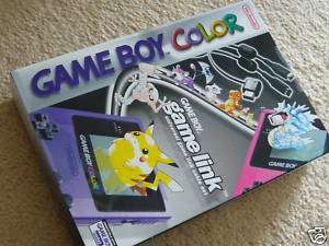 Nintendo GAMEBOY COLOR POKEMON Universal LINK CABLE NEW