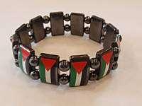 Metal Palestinian Bracelet Palestine Flag Wristband