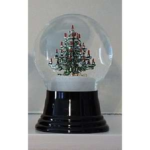 Decorated Christmas Tree Snow Globe