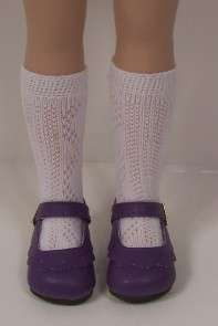 PURPLE Classic Shoes For 14 Betsy McCall Doll♥