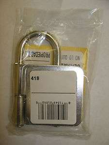 NEW MasterLock 4 padlock lockout hasp, pry proof steel, 1 lockout