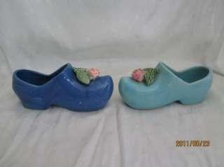 McCoy Pottery 1947 Dutch Shoe Planters