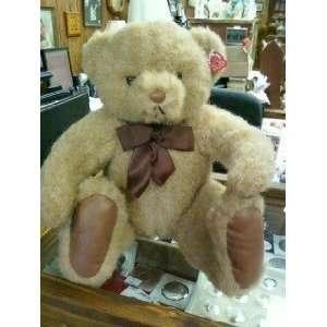 Vintage 1990 Charm Co Plush Brown Teddy Bear 12