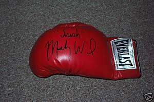 Irish Micky Ward Autographed Leather Boxing Glove