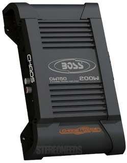 BOSS CW150 200 WATT 2/1 CHANNEL AMP CAR STEREO AUDIO POWER AMPLIFIER