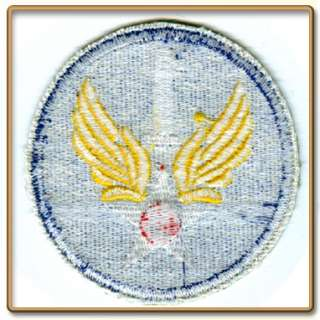 WW2 US Army 1st Air Force Patch (Cut edge, White back)