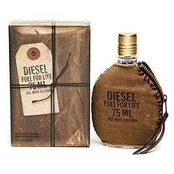 Buy Diesel Fuel For Life Men Eau de Toilette Spray with Pouch & More