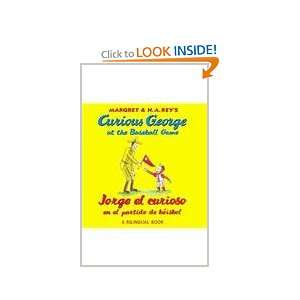 Curious George at the Baseball Game/Jorge el curioso en el