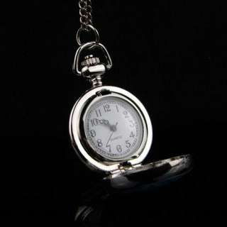 Marilyn Monroe Women Ladies Pocket Watch Necklace NE05
