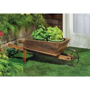 Country Flower Cart Planter: Patio, Lawn & Garden