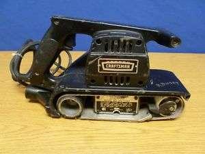 Vintage  3x21 Craftsman Belt Sander S25
