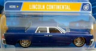 HOT WHEELS DROPSTARS BLUE LINCOLN CONTINENTAL #H2281 NRFP MINT COND