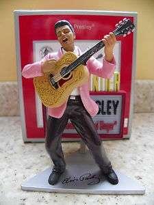 Greetings Heirloom 2011 Elvis Presley Christmas Ornament Music