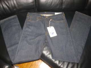 brand new evisu private stock japanese classic fit homer jeans size 36