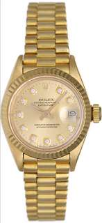Rolex Ladies President 18k Yellow Gold Watch 6917