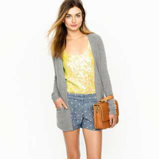 Polka dot short   novelty   Womens shorts   J.Crew