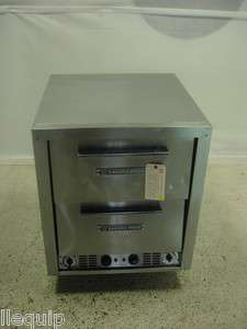 USED Bakers Pride Electric Double Deck Pizza Oven Deck Oven Model P 44