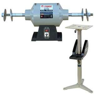 10 Buffing Machine, Dual Speed  Adjustable Pedestal