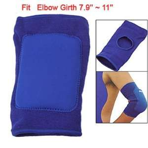 Como #0612 S Volleyball Sports Blue Elastic Elbow Support