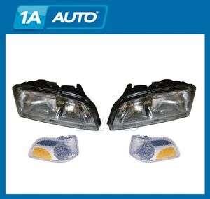 Volvo C70 S70 V70 Headlights Headlamps & Corner Marker Parking Light