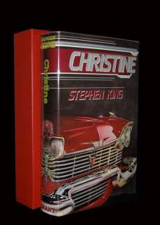 STEPHEN KING   Christine   SIGNED LIMITED EDITION