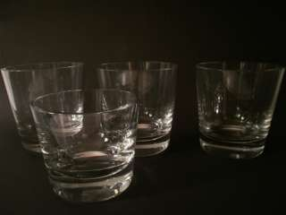 Baccarat Crystal Tumblers Rocks Neat Glasses
