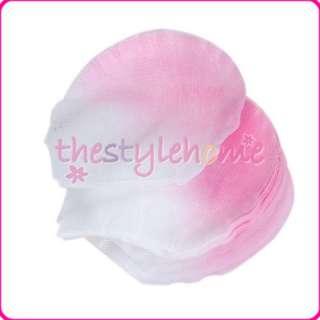 300 Pink & White Silk Flower Rose Petals Wedding Favors