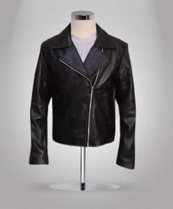 Nicolas Cage Ghost Rider Biker Black Leather Jacket