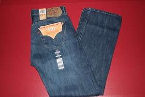 NWT NEW MENS LEVIS 501 0427 MEDIUM ICONIC BUTTON FLY JEANS