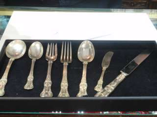 Tiffany & Co. English King Sterling Silver Flatware Set