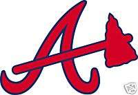 ATLANTA BRAVES A Logo WINDOW Wall STICKER Car Decal