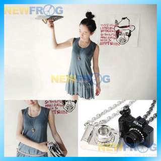 New Fashion Necklace with Nikon Camera Pendant B N