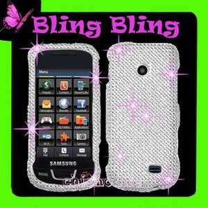 DIAMANTE Hard Case Cover for Straight Talk SAMSUNG T528G 528G 528
