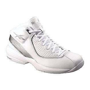 ... Mens Buckets III White Silver Reebok Shoes Mens Athletic ... e92b10a7f