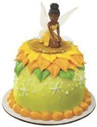 DECOPAC AFRICAN AMERICAN FAIRY SMALL DOME CAKE TOPPER CLEAR WINGS