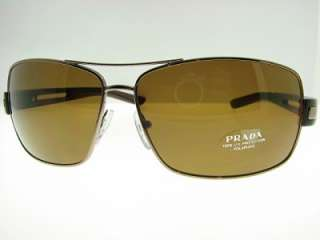 AUTHENTIC PRADA SPR 54IS 4AC5Y1 POLARIZED SUNGLASSES 54