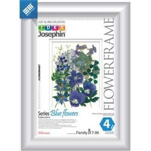 KIDS CRAFT KIT/Make a Herbarium African Flowers (Blue