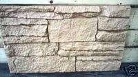 100 abs Plastic rock facing sheet plaster concrete mold