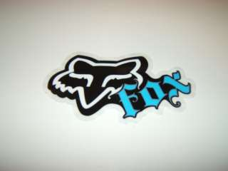 FOX RACING MOTOCROSS SKATEBOARD WAKEBOARD SNOWBOARD BLUE SWITCH