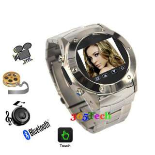 Unlocked Quad Band Wrist Watch Mobile Cell Phone touch screen camera