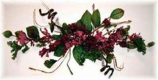 PRIMITIVE Silk Flowers SWAG Wedding Arch Decor Centerpieces NEW