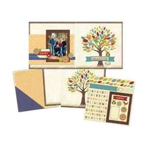 Little Yellow Bicycle Hello Fall Page Kit 12X12 Family Tree