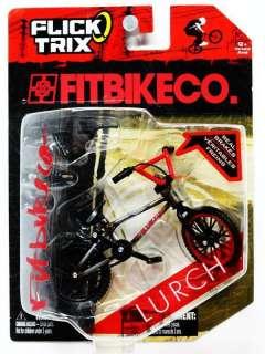 FITBIKECO. LURCH Flick Trix Finger Bike 2009 Black/Red